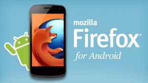 تطبيق فايرفوكس firefox للأندرويد