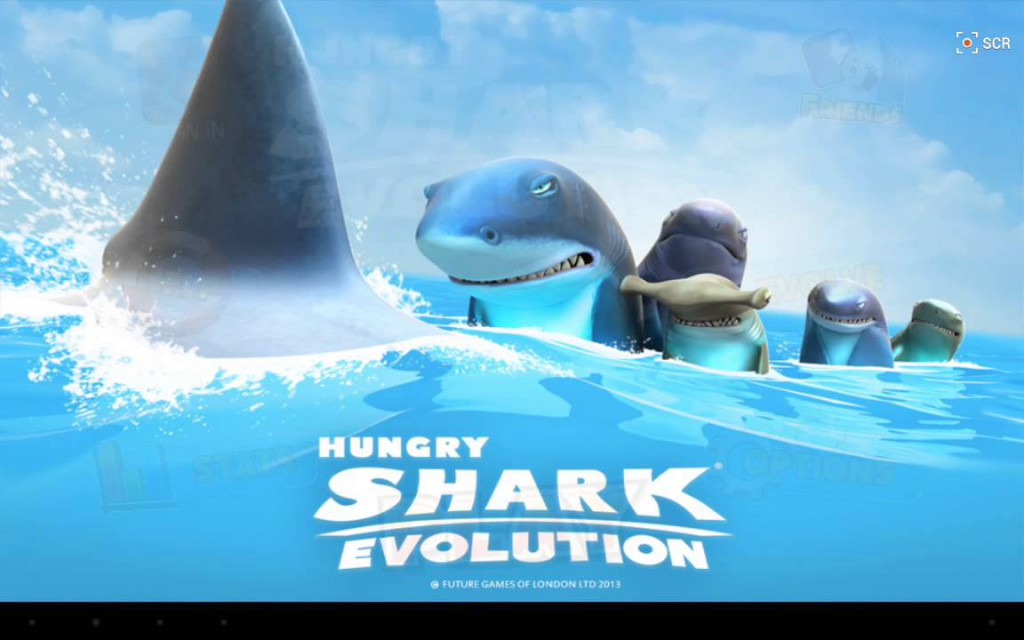 لعبة القرش الجائع للأندرويد Hungry Shark