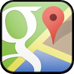 تطبيق خرائط غوغل Google maps للايفون