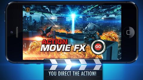 Action Movie FX للايفون تطبيق لادخال التاثيرات الى فيديوهاتك