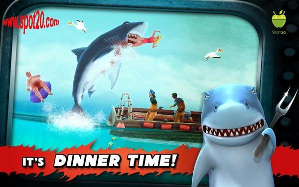 لعبة هانجري شارك Hungry Shark للاندرويد