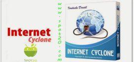 تحميل برنامج انترنت سايكلون Internet Cyclone للكمبيوتر لتسريع الانترنت