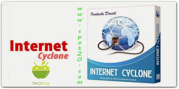 برنامج انترنت سايكلون Internet Cyclone للكمبيوتر
