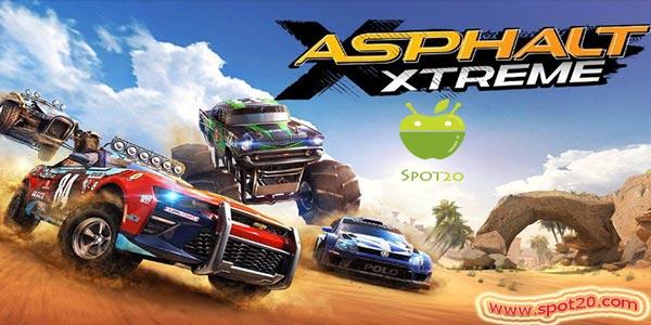 تحميل لعبة اسفلت اكستريم Asphalt Xtreme الجديدة