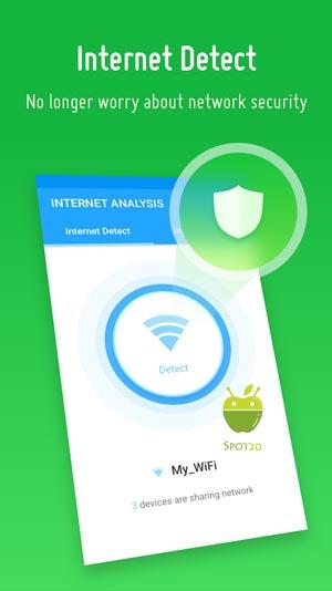 برنامج انترنت اناليسيس Internet Analysis للاندرويد