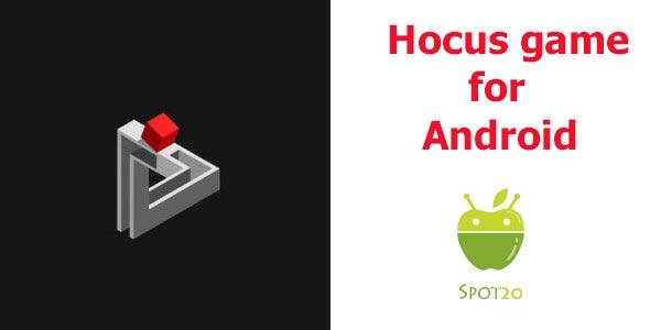 تحميل لعبة هوكيس hocus للاندرويد احدث لعبة بازل