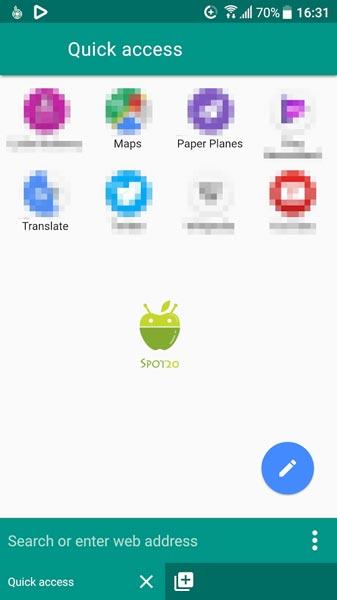 متصفح بيرجين Peregrine Browser