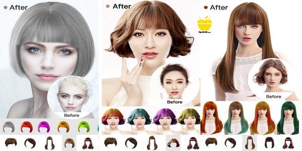 Insta Hair Style للايفون برنامج انستاهير احدث تسريحات