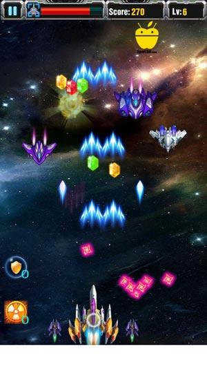لعبة جالاكسي شوتر Galaxy Shooter للاندرويد