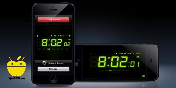 تطبيق Alarm Clock للايفون منبه قوي رووووعة