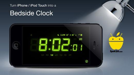 تطبيق Alarm Clock للايفون