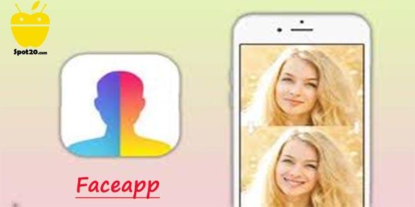 Faceapp للايفون برنامج تعديل صور