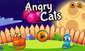 تطبيق لعبة القطط الغاضبة للأندرويد