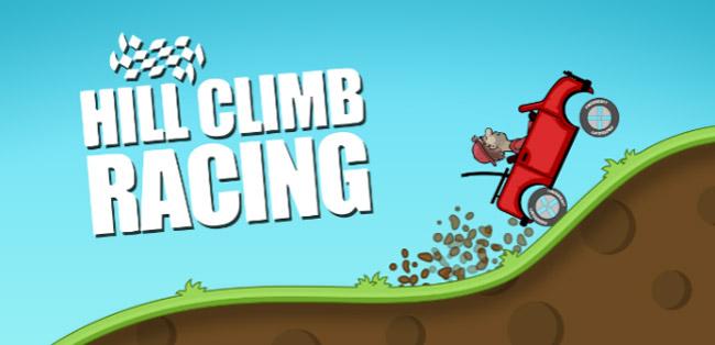 لعبة تسلق التل hill climb للأيفون