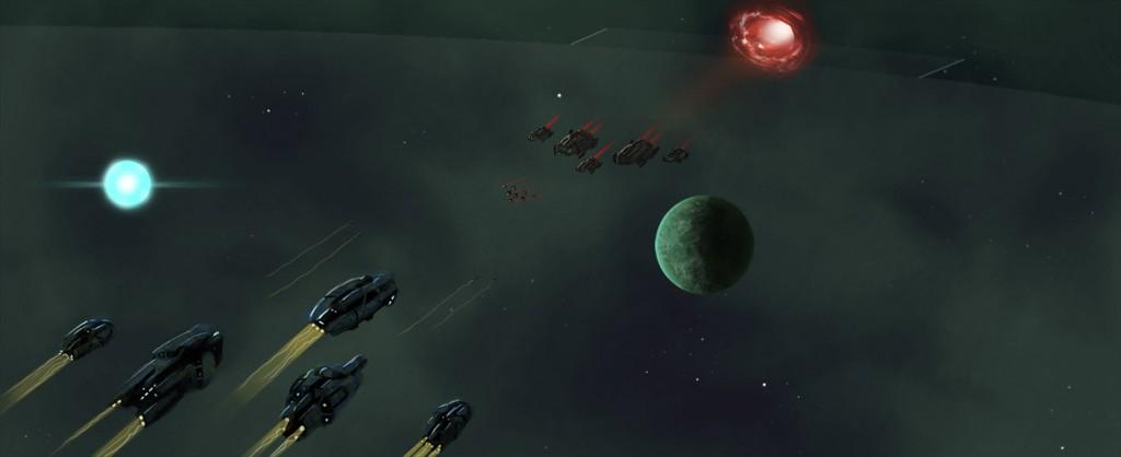 لعبة حرب الفضاء الجديدة للكمبيوتر