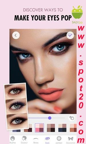 تطبيق ميكاب بلس MakeupPlus للاندرويد