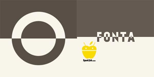 تطبيق fonta للايفون