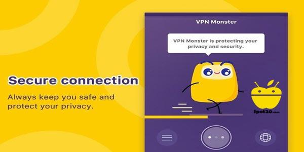 VPN مونستر للاندرويد